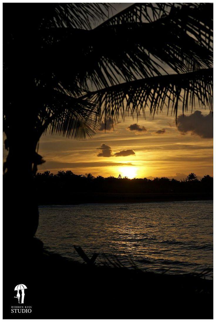Gorgeous Puerto Rico sunset. Loiza, Puerto Rico.
