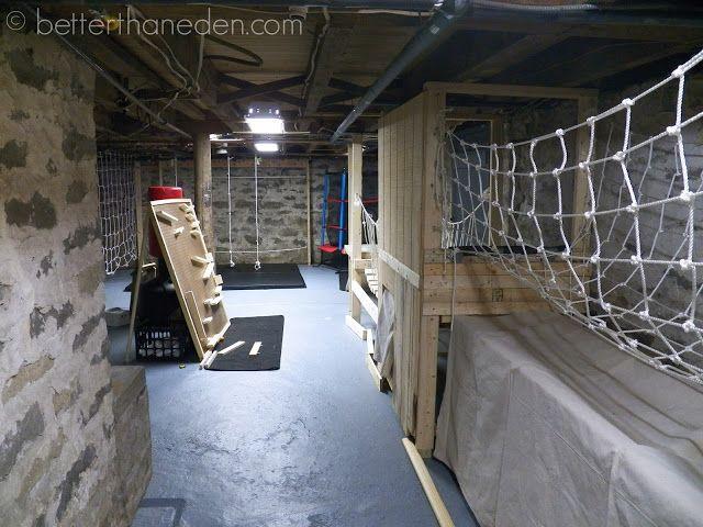 A Basement Gym for the Boys | Better Than Eden | Bloglovin'