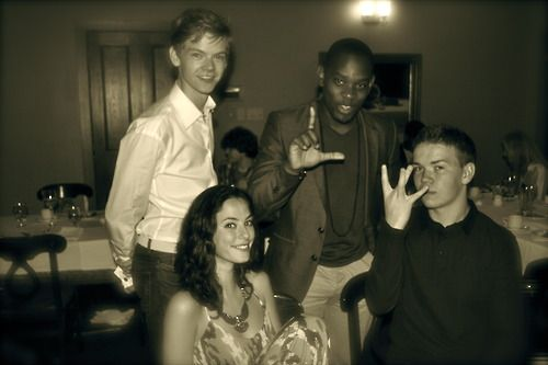 Thomas Brodie-Sangster, Aml Ameen, Kaya Scodelario, and ...