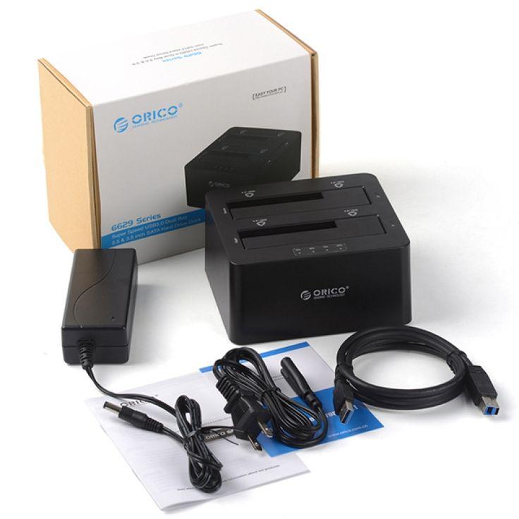 ORICO 6629US3-C 2.5 3.5Inch USB 3.0 HDD Docking Station SATA External Storage Enclosure Optional Color