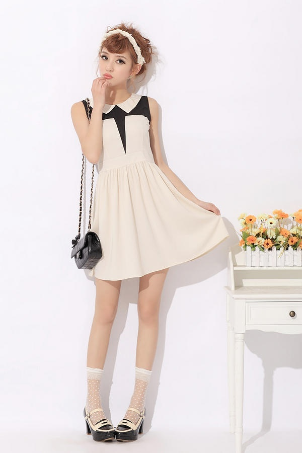 Korean fashion dress clothing