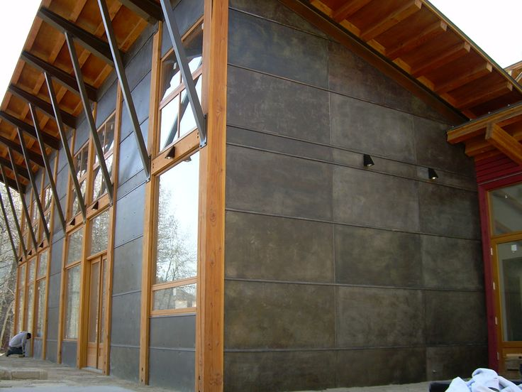 Homes With Metal Siding Google Search Pinteres