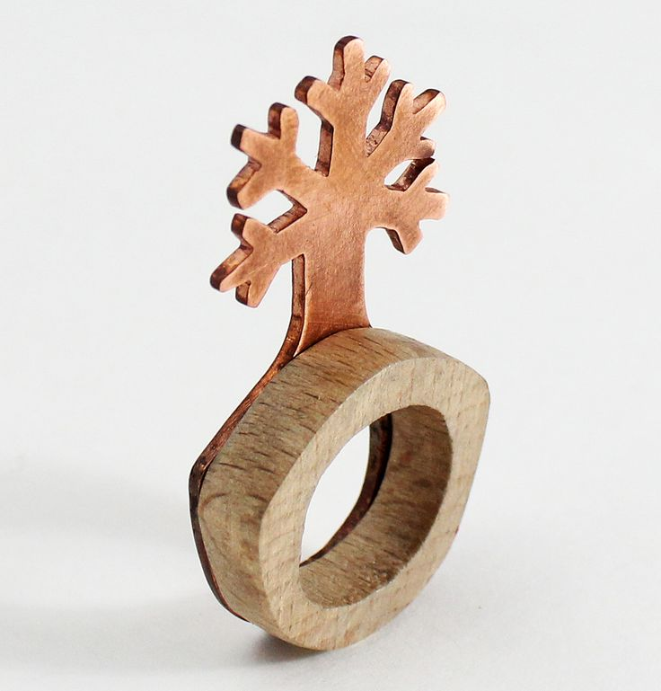 Elevarbejde  Træ og kobber Terese Sofie Hjort Rasmussen
