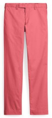 Ralph Lauren Stretch Slim Fit Chino Red Coral 34