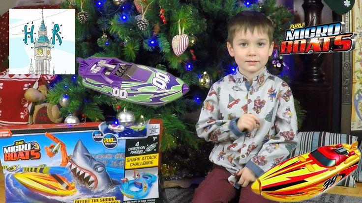 ИГРЫ С ВОДОЙ! Zuru Micro Boats Racing Track! Водные игрушки СУПЕР ВОДНЫЙ...
