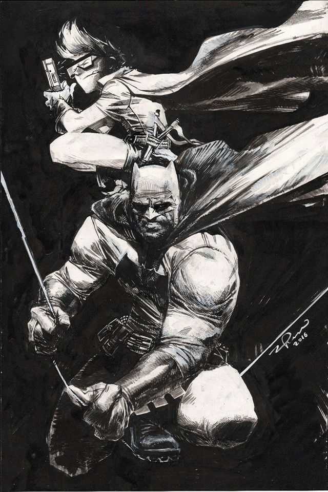 Dark Knight Returns by Gerardo Zaffino
