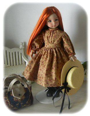 "ANNE  GREEN GABLES  PORTFOLIO OF PATTERNS 4 Effner 13"" Little Darling  !!"