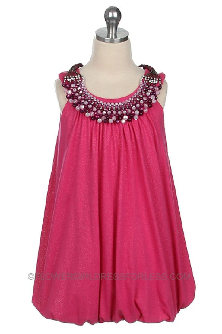 The 17 Best Hot Pink Flower Girl Dresses Images On Pinterest
