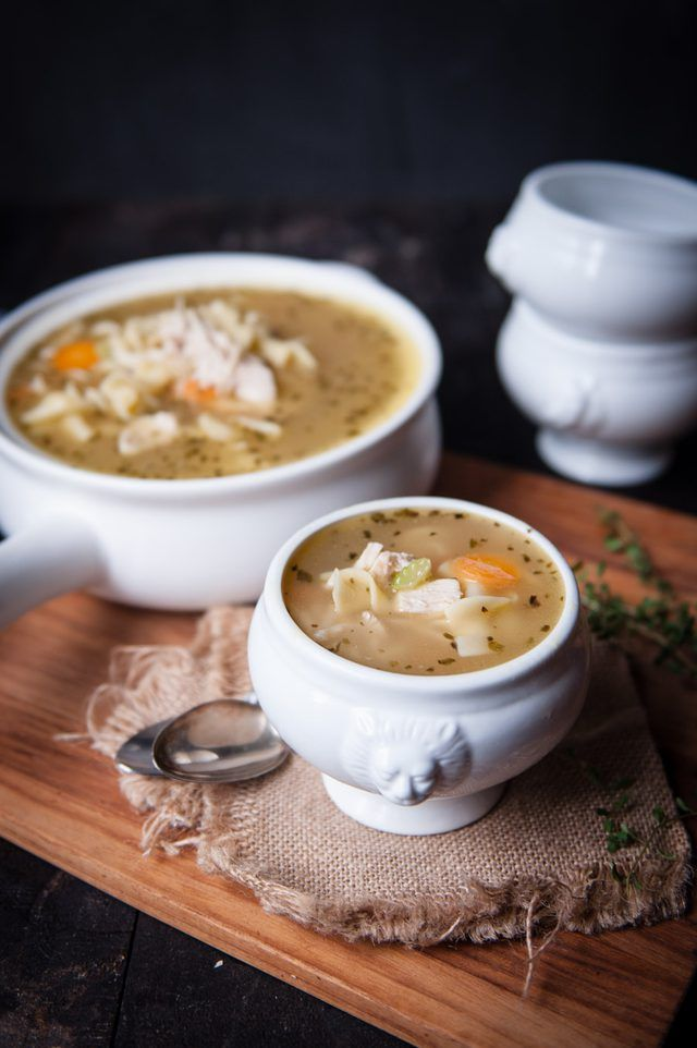 Homemade Turkey Soup Recipe Using a Leftover Carcass. The BEST day after thanksgiving meal ever. Simple to do, just save the carcass!