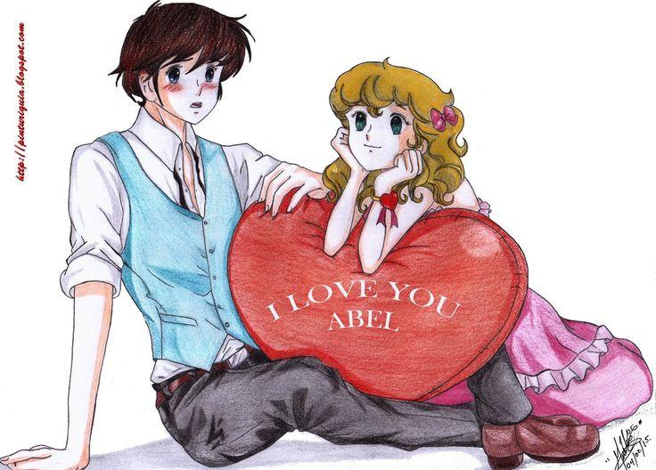 Lady Georgie y Abel san valentin by shinamvec
