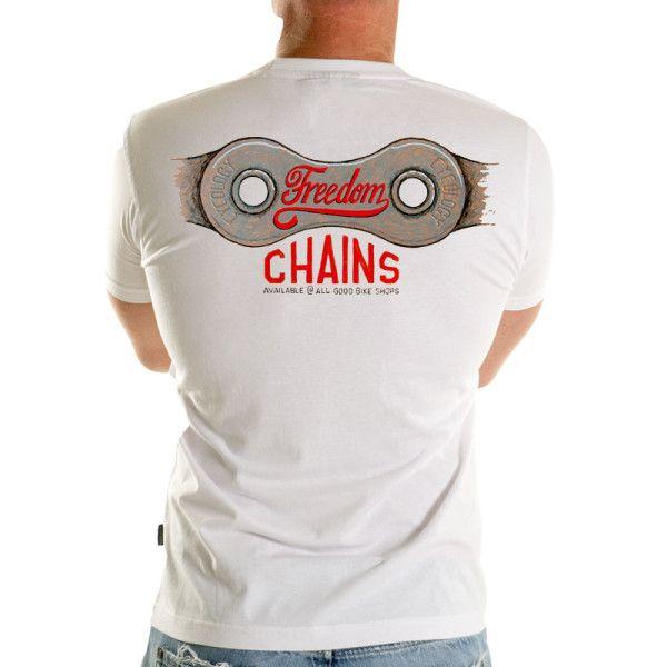 Freedom chains men's t-shirt