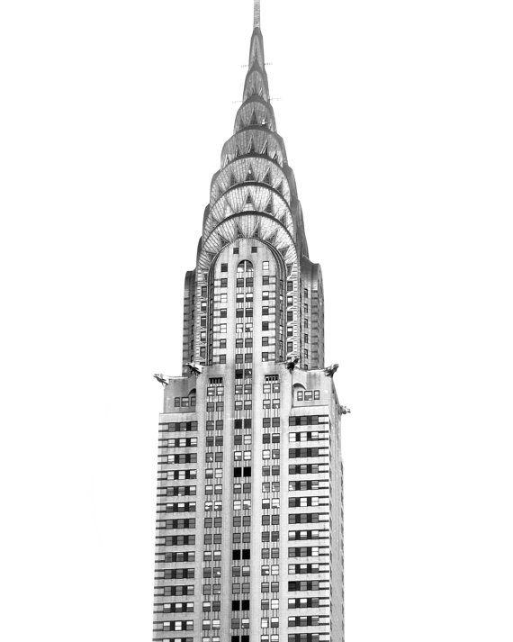 Edificio chrysler impresi n nueva york arquitectura arte - Arquitectura minimalista ...
