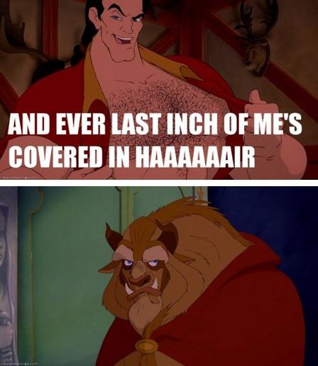His face.Funny Disney Movie Quotes, Beast Rolls, Funny Stuff, Poor Beast, Bahaha Poor, Disney Humor, The Beast, Beast Face, Bahaha Disney