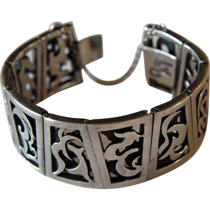 Antonio Pineda Bracelet Taxco Silver