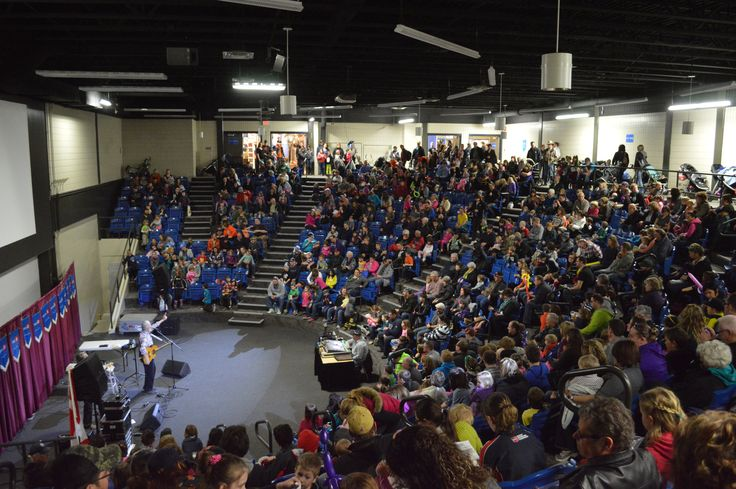 Fred Penner performs in Amphitheatre, Keystone Centre - at the Royal Manitoba Winter Fair in Brandon