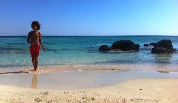 Freedom in Elafonissi beach, Crete