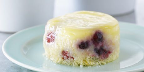Lemon Berry Saucing Cakes Recipes | Food Network Canada. This recipe is delicious and really easy to make. I served it at room temperature, several hours after it was baked.