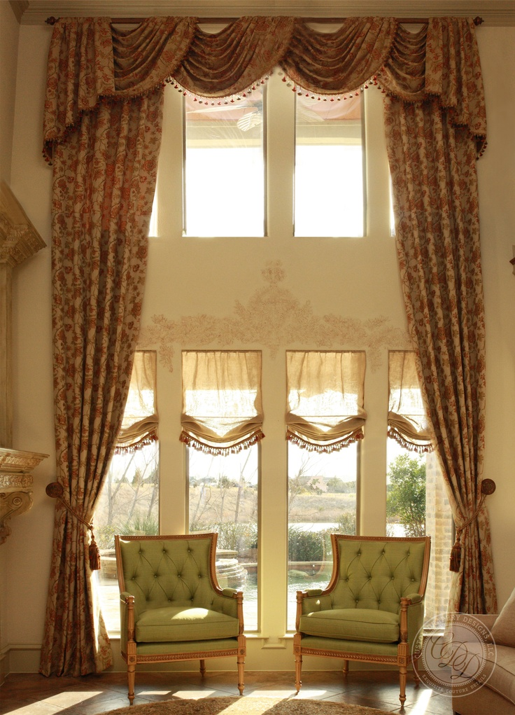 best 25 tall window curtains ideas on pinterest tall curtains tall window treatments and grey living room curtains - Drapery Design Ideas