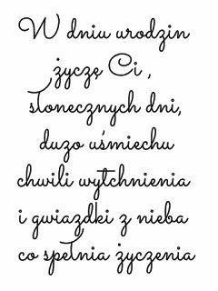 Zum geburtstag viel glück polnisch