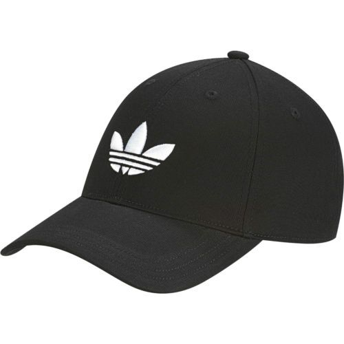 NEW-Adidas-Originals-Classic-Trefoil-Black-Baseball-Cap-ONE-SIZE-hat-AJ8941