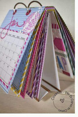 calendario 2014 con tutorial