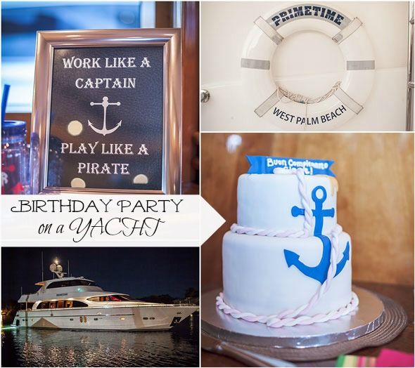 Birthday Party Yacht: 44 Best Images About Nautical Birthday Party Ideas On
