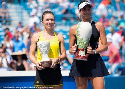 Career Title No.5 ... Garbine Muguruza beats Simona Halep for 1st Western & Southern Open ...  ESPN-  MASON, Ohio -- Wimbledon champion Garbine Muguruza added another trophy in her breakthrough summer, beating Simona Halep on Sundayhttp://www.google.com/url?sa=t&rct=j&q=&esrc=s&source=newssearch&cd=1&cad=rja&uact=8&ved=0ahUKEwjQ5pGzq-jVAhUnh1QKHQNVDZ0QqQIIJygAMAA&url=http%3A%2F%2Fwww.espn.com%2Ftennis%2Fstory%2F_%2Fid%2F20398208%2Fwimbledon-champion-garbine-muguruza-be