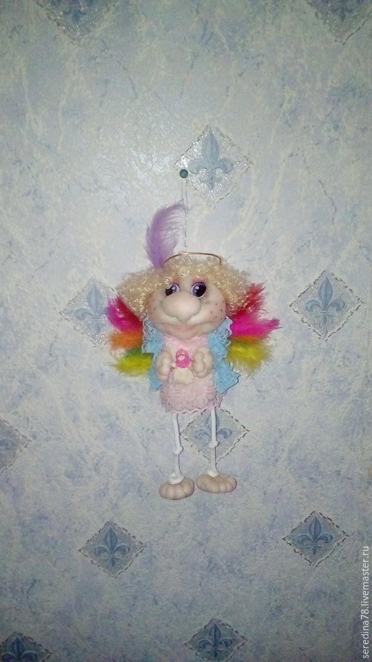 Купить Кукла интерьерная Фея-Ангел. - розовый, кукла ручной работы, кукла в…