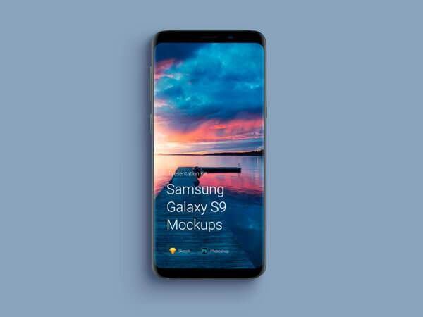10 Samsung Galaxy S9 Mockup PSD Free Download  #galaxy_s9 #samsung