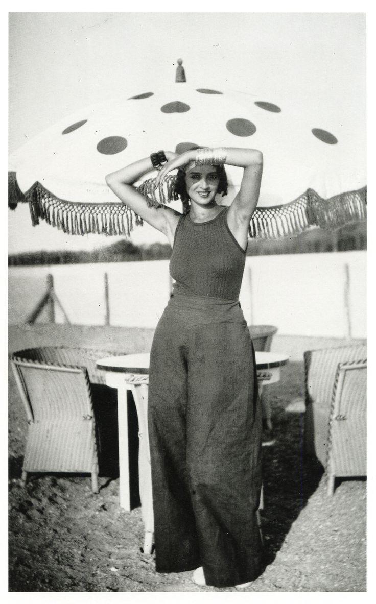 Renée, piscine de La Chambre d'Amour, Biarritz, août 1930 © Jacques Henri Lartigue