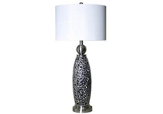 shop for a bubble lamp at rooms to go find lamps that will look great. Black Bedroom Furniture Sets. Home Design Ideas