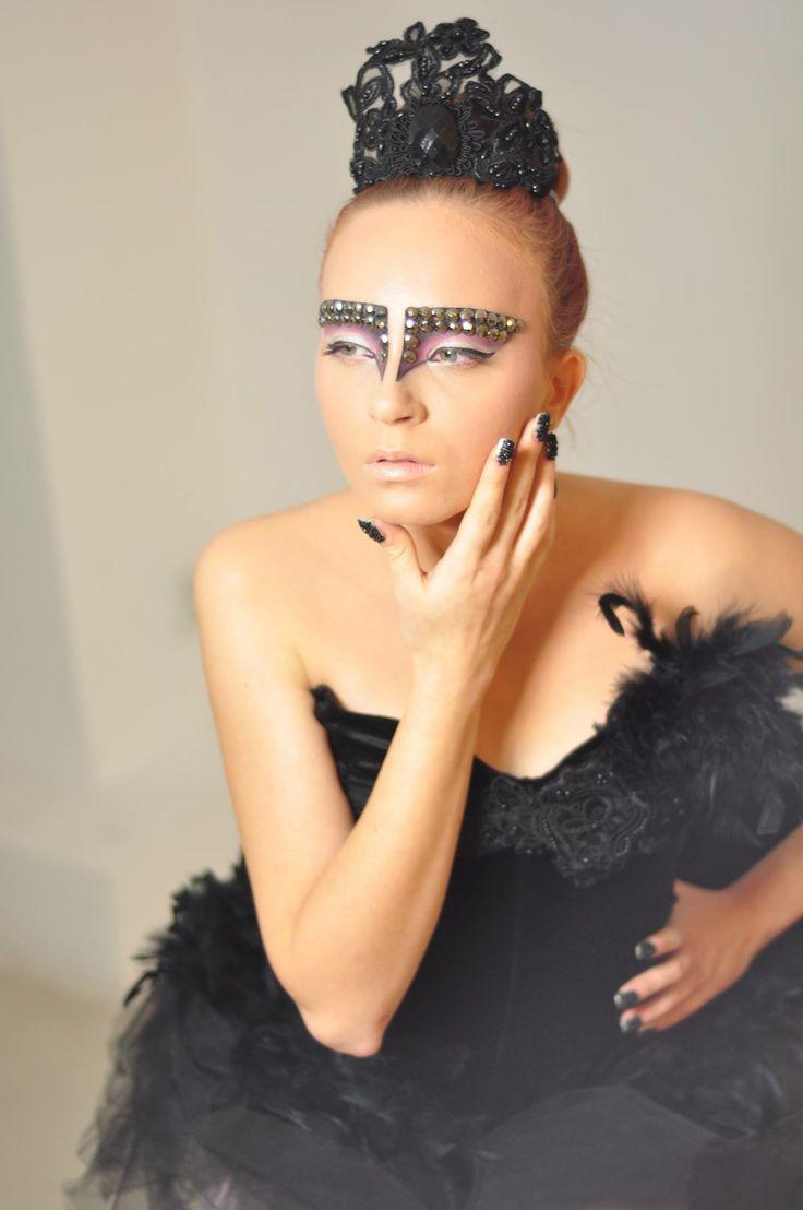 #makeup #blackswan #drama #ballerina