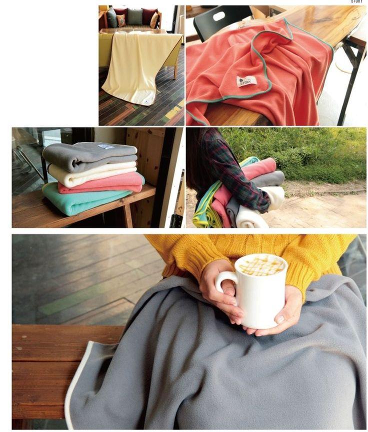 New Airplane Car Travel soft colorful warm pretty blanket nap blanket #TC #Airplaneblanket