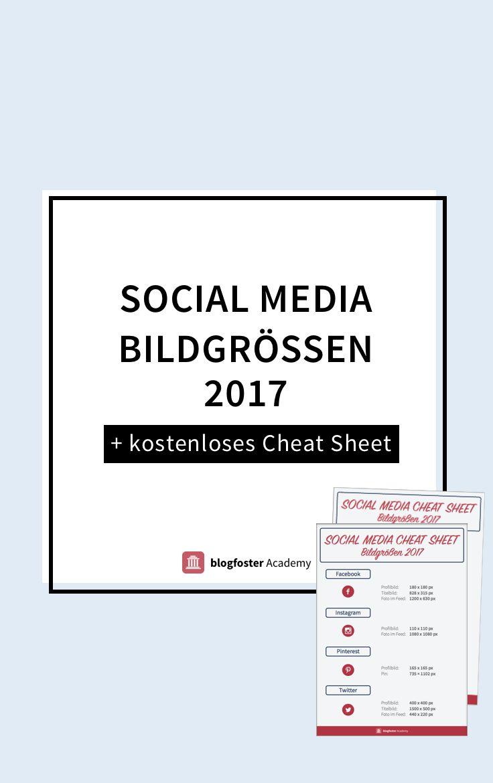 Bilder sind im Social Web ein Grundstein, auf den Du als Blogger nicht verzichten kannst. In diesem Artikel erfährst Du wichtige Informationen über die Bildverwendung und bekommst ein kostenloses Cheat Sheet für die optimalen Bildgrößen.