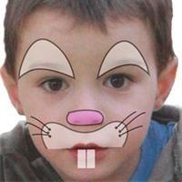 Maquillage enfant Lapin  Tuto maquillage enfant - Loisirs créatifs