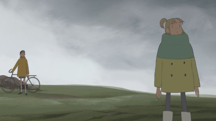 """""""Eñvor"""" is a short by Leïla Courtillon that not only has some really lovely animation, but some of the best uses of sound I've ever seen in a short."""