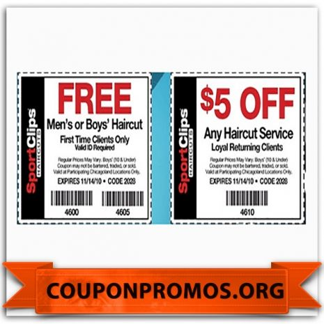 Sports Clips Haircut Coupons