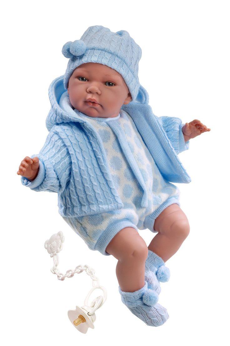 M. Llorens Juan Puppe Babypuppe Spielpupppe mit Schnuller und Funktion de.picclick.com