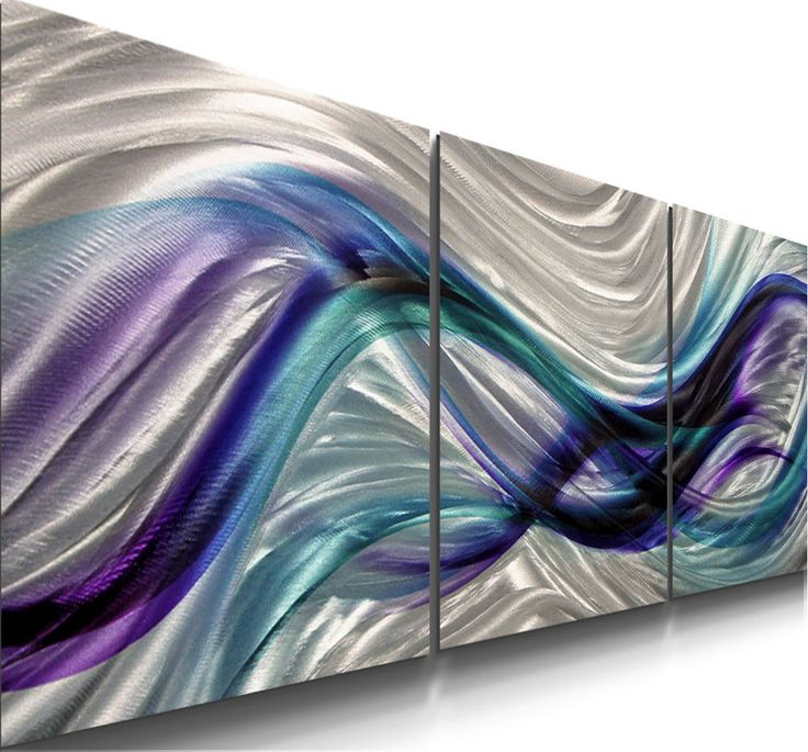 Metal Abstract painting Modern sculpture Art Original Large Contemporary 155