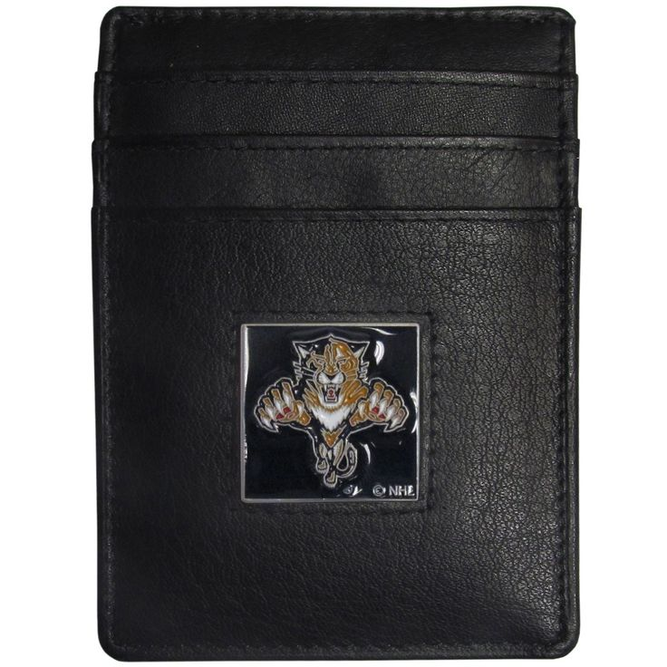 """Checkout our #LicensedGear products FREE SHIPPING + 10% OFF Coupon Code """"Official"""" Florida Panthers Leather Money Clip/Cardholder Packaged in Gift Box - Officially licensed NHL product Genuine fine grain leather wallet Credit card slots Magnetic money clip that will not damage your cards Metal Florida Panthers emblem with enameled team colors - Price: $22.00. Buy now at https://officiallylicensedgear.com/florida-panthers-leather-money-clip-cardholder-packaged-in-gift-box-hch95"""