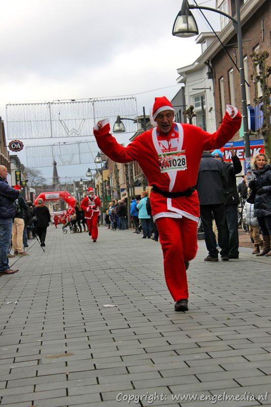 Santarun tijdens Kersthuis 2012 in Waalwijk