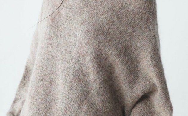 Longpullover Damen Kaschmir oversize Pullover