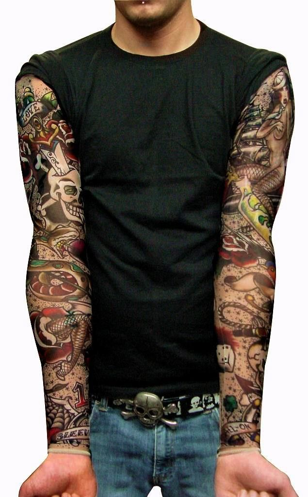 black and grey stylish sleeve tattoo fashion join men body tattoos pinterest sleeve. Black Bedroom Furniture Sets. Home Design Ideas