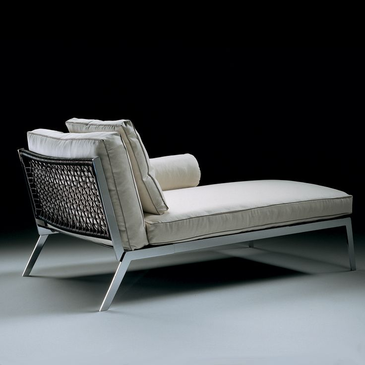 flexform happy chaise lounge by antonio citterio luxe. Black Bedroom Furniture Sets. Home Design Ideas