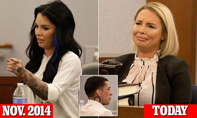 Christy Mack went for a more conservative look when she appeared at the Regional Justice Center in Las Vegas on Wednesday, to testify against War Machine, born Jonathan Paul Koppenhaver.