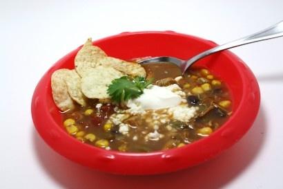 Mexican Dump Soup... aka worst recipe name EVER