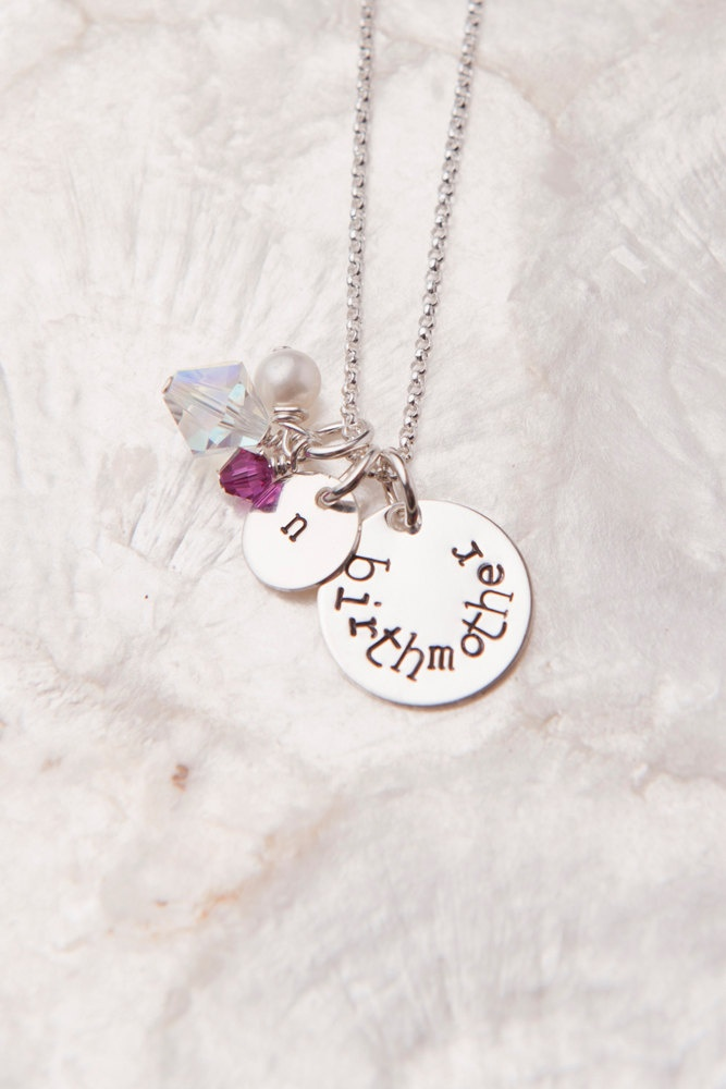 Birth Mother Necklace, Birth Mother Gifts, Adoption Gifts, Adoption Presents, Gifts for Birth Mothers. $34.00, via Etsy.