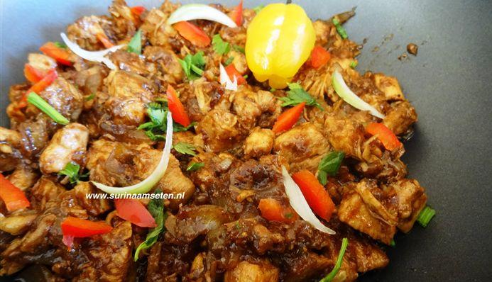 Surinaams eten – Javaanse Gehaktbal (Javaanse gehaktbal met de lekkerste Surinaamse nasi)