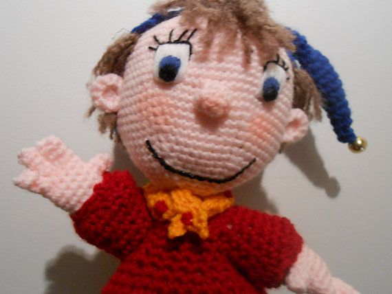 Noddy Doll Knitting Pattern : 17 Best images about Freakin Yarn-tastic on Pinterest Free pattern, Ra...