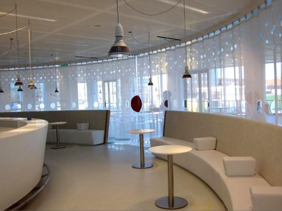 Interieur kantoor UPC in Leeuwarden